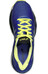 asics Gel-Nimbus 18 Shoe Women Blue Purple/Silver/Sunny Lime